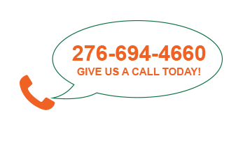 Give us a call today 276 694 4660